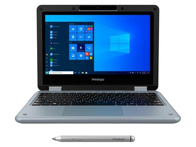 Ноутбук Prestigio Ecliptica 116 C3 PSB116C03CGP_DG_CIS (Intel Celeron N4100 1.1GHz/4096Mb/128Gb SSD/No ODD/Intel HD Graphics/Wi-Fi/Bluetooth/11.6/1920x1080/Windows 10 64-bit)