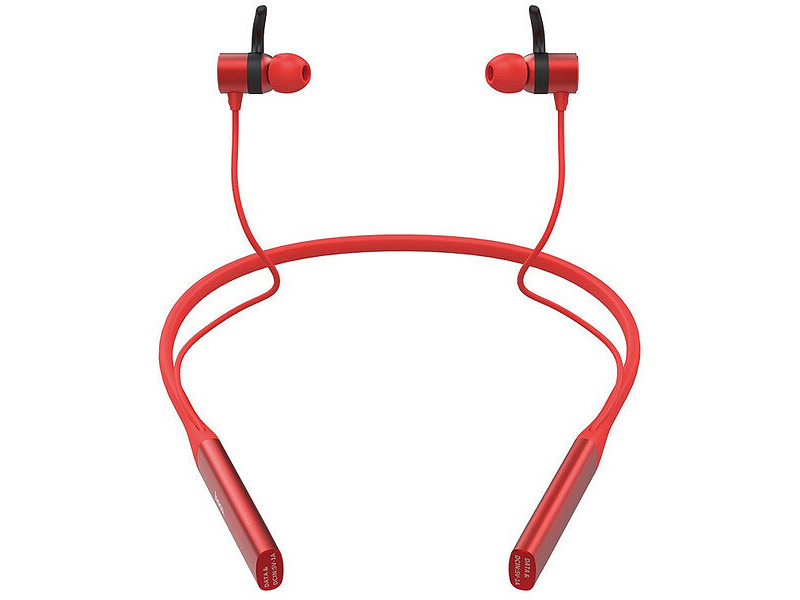 Наушники Hoco S18 Glamor Sports Red