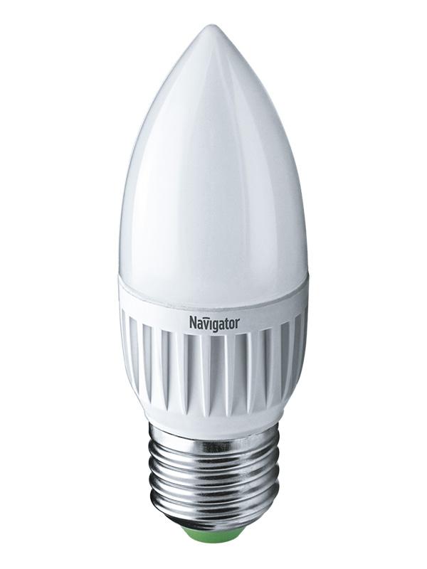 Лампочка Navigator NLL-P-C37-5-230-6.5K-E27-FR 61 250