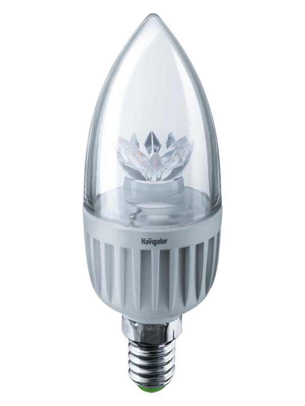 Лампочка Navigator NLL-C37-7-230-4K-E14-CL 71 853
