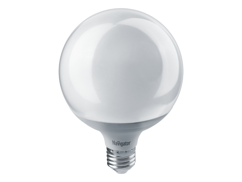 Лампочка Navigator NLL-G120-18-230-4K-E27 14 165