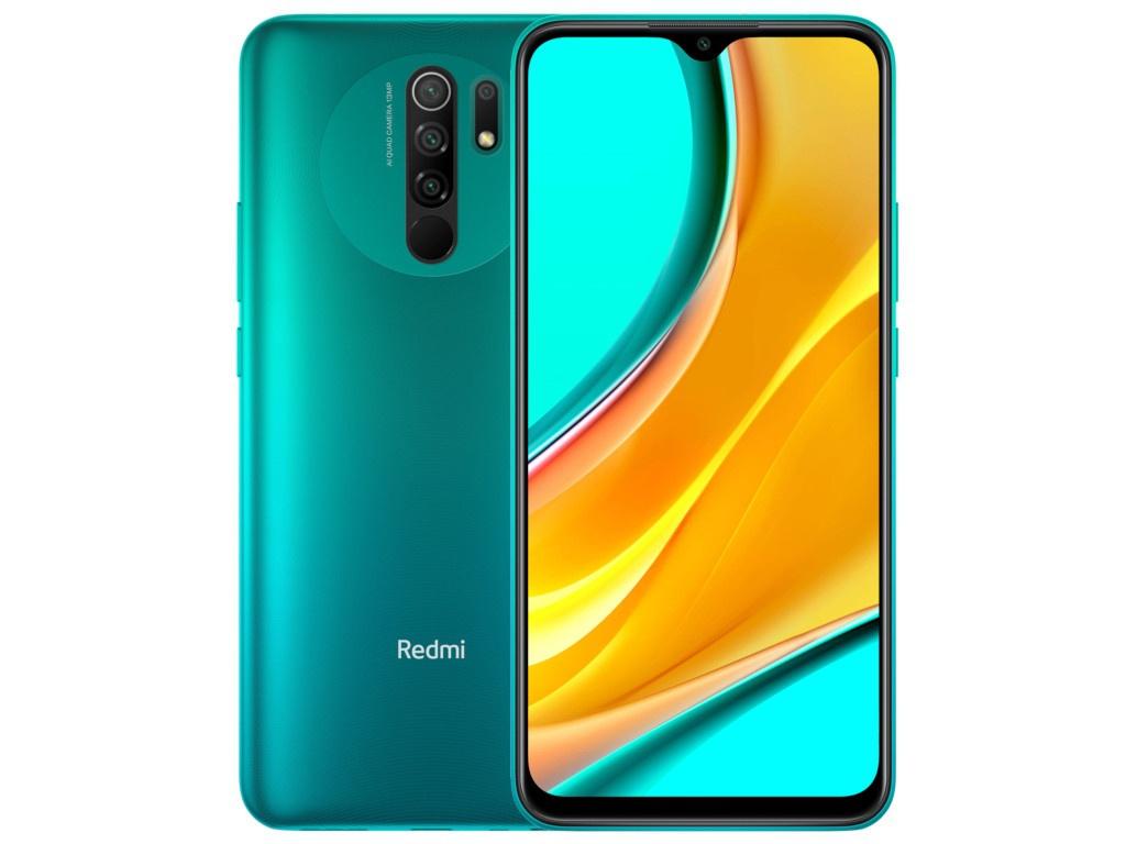 Сотовый телефон Xiaomi Redmi 9 3/32Gb Ocean Green недорого