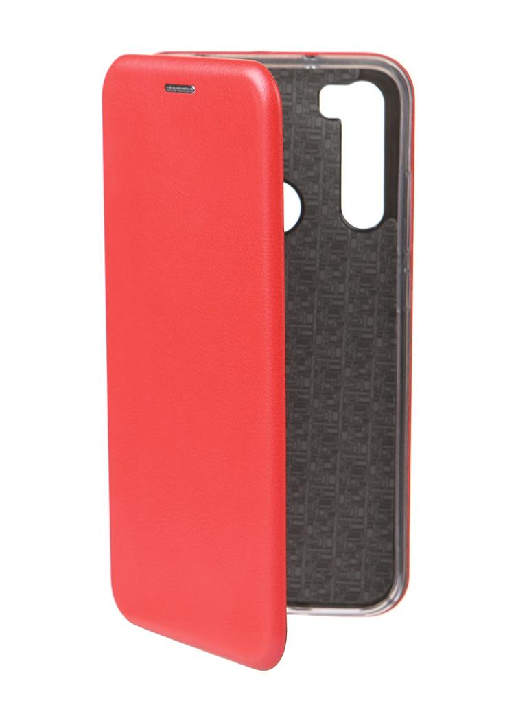 Чехол Innovation для Xiaomi Redmi Note 8 Book Red 16636