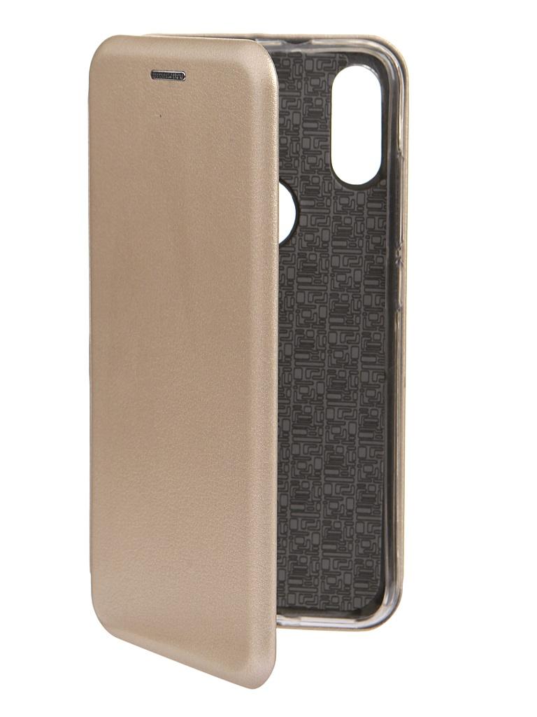 Чехол Innovation для Xiaomi Mi Play Book Gold 15427