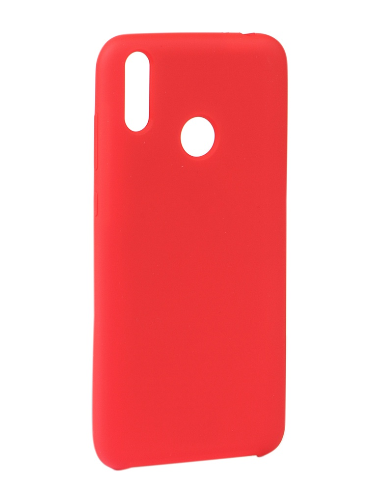 Чехол Innovation для Honor 8C Silicone Cover Red 14408