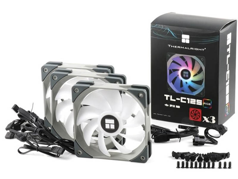 Вентилятор Thermalright TL-C12S 3x 120x120x25mm