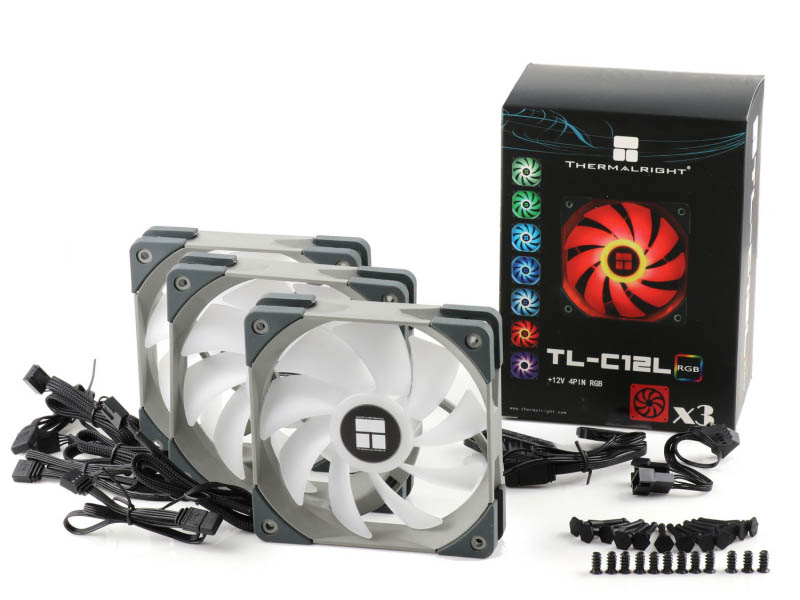 Вентилятор Thermalright TL-C12L 3x 120x120x25mm