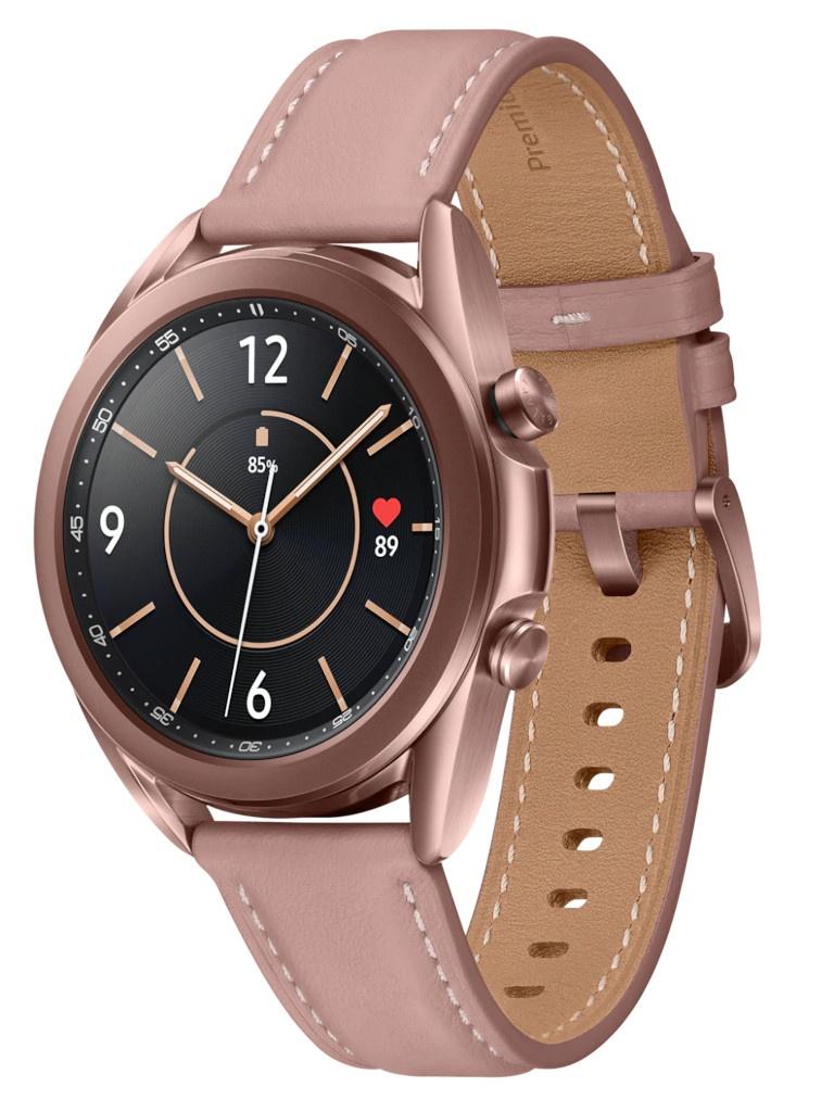 Умные часы Samsung Galaxy Watch 3 41mm Gold SM-R850NZDACIS умные часы samsung galaxy watch 46 мм серебристый