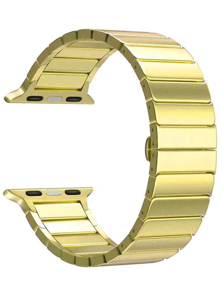 Аксессуар Ремешок Lyambda для APPLE Watch 38/40mm Canopus Gold DS-APG-05-40-GL