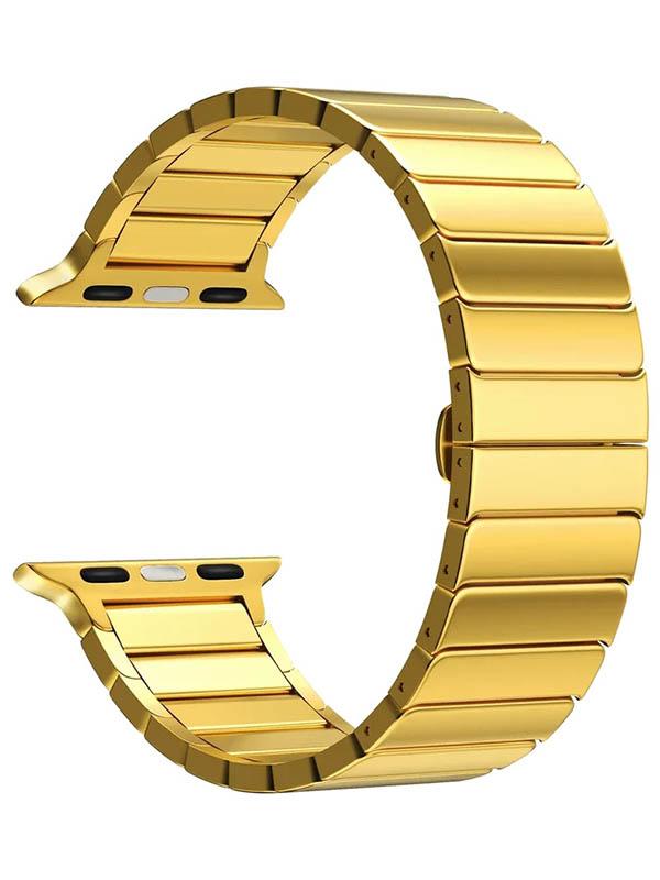 Аксессуар Ремешок Lyambda для APPLE Watch 42/44mm Canopus Gold DS-APG-05-44-GL