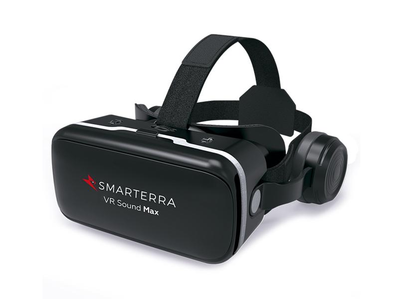 Фото - Очки виртуальной реальности Smarterra VR Sound Max 3DSMVRSDMXBK очки виртуальной реальности smarterra vr