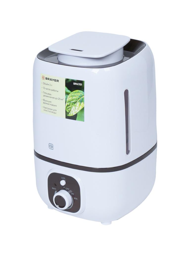 BRAYER BR4701 увлажнитель воздуха brayer br4701 белый коричневый