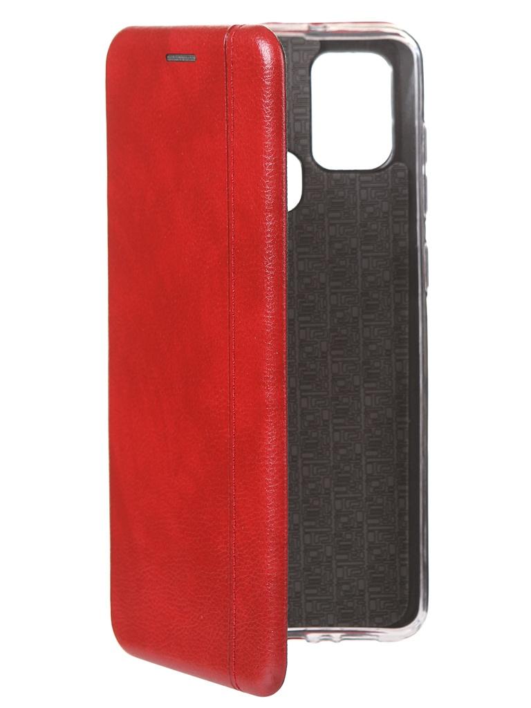 Чехол Zibelino для Samsung A21s Book Red ZB-SAM-A217-RED