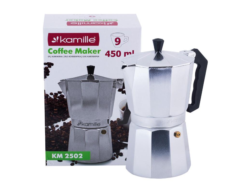 Кофеварка Kamille 9 порций 2502