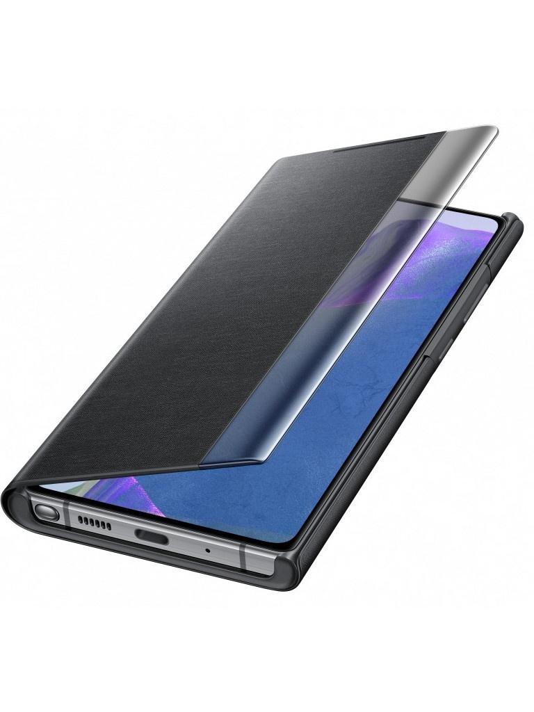 Чехол для Samsung Galaxy Note 20 Smart Clear View Cover Black EF-ZN980CBEGRU