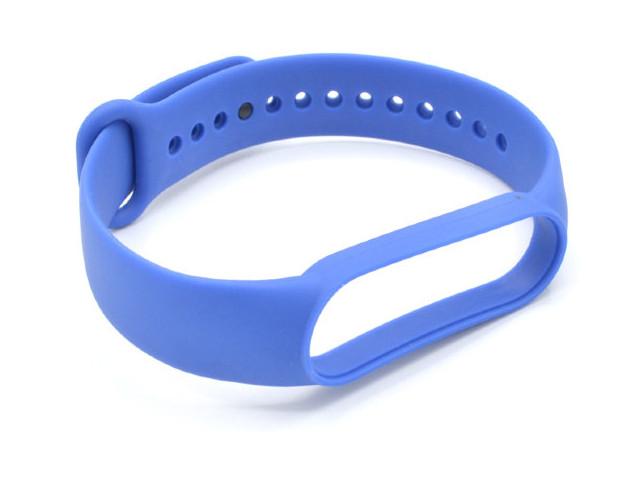 Aксессуар Ремешок Innovation для Mi Band 5 Silicone Blue 17857