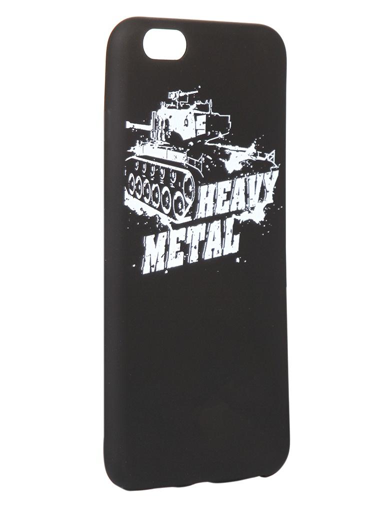 Чехол Krutoff для APPLE iPhone 6/6S Plus Blitz Heavy Metal 3 10314