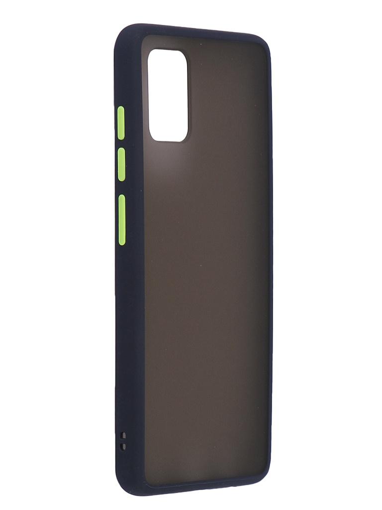 Чехол Brosco для Samsung Galaxy A51 Blue-Green SS-A51-ST-TPU-BLUE-GREEN
