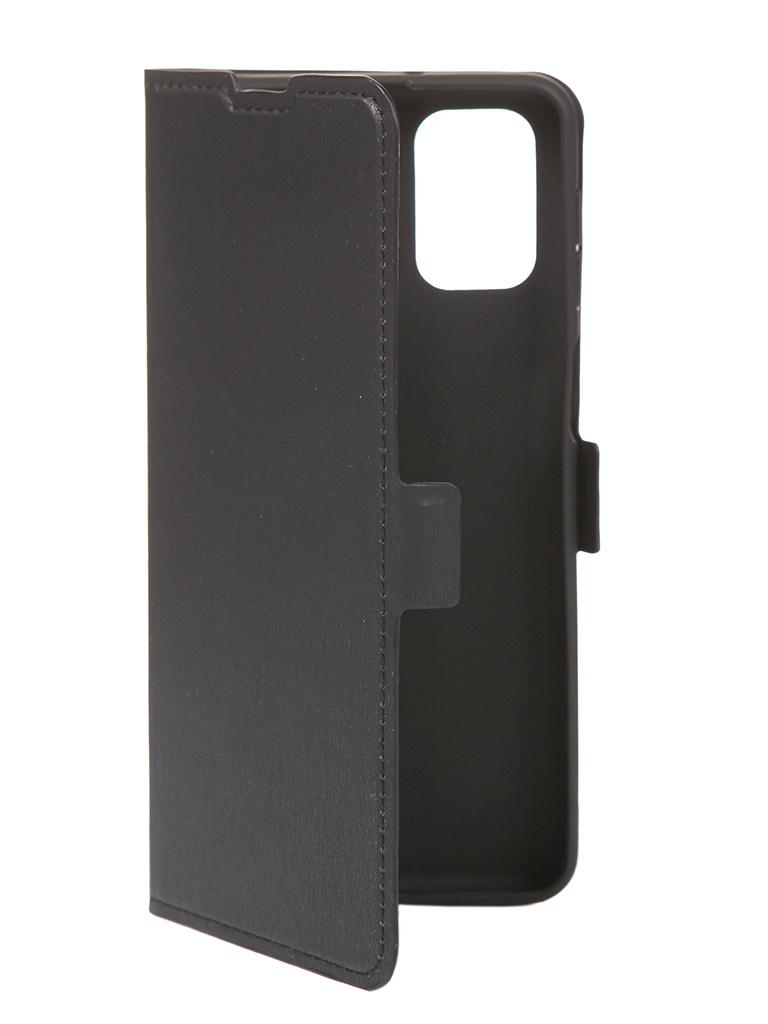 Чехол DF для Samsung Galaxy M31s Black sFlip-73