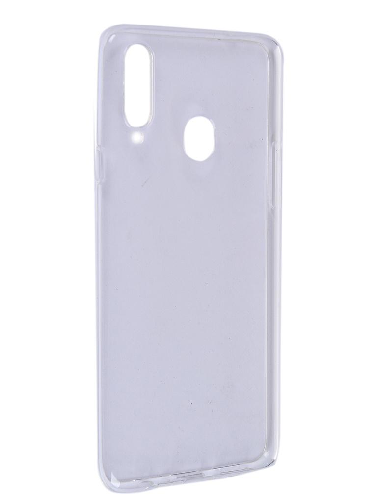 Чехол Pero для Samsung Galaxy A20S Silicone Clip Case Transparent CC01-A20STR