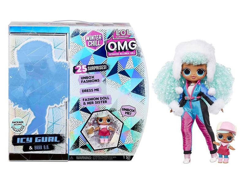 Кукла LOL OMG Winter Wonderland Doll 1 570240
