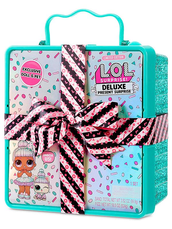 Кукла LOL Present Surprise Turquoise 570707