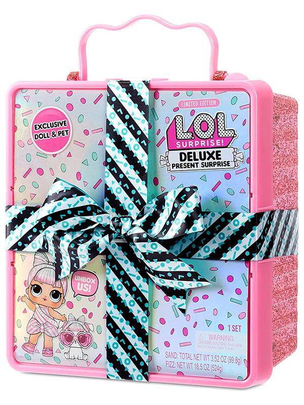 Кукла LOL Present Surprise Pink 570691