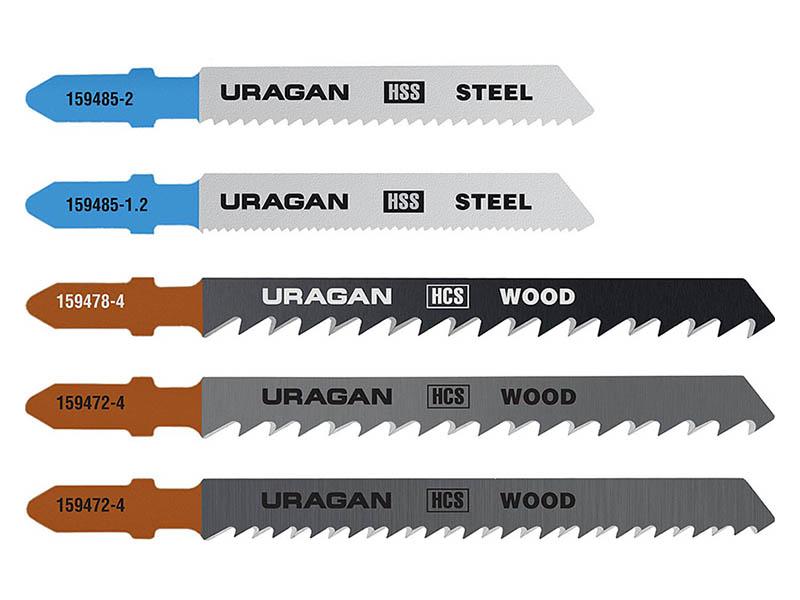 Пилка Uragan по дереву и металлу 5шт 159489-H5_z02