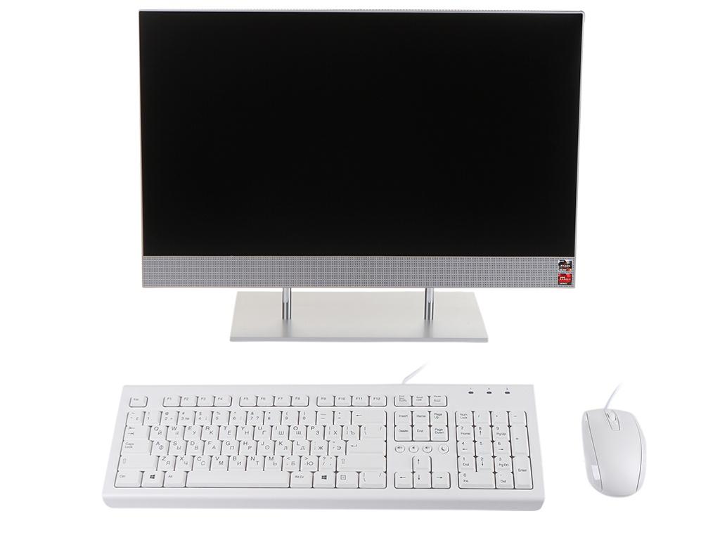 Моноблок HP 27-dp0001ur 14Q49EA (AMD Ryzen 3 4300U 2.7 GHz/4096Mb/128Gb SSD/AMD Radeon Graphics/Wi-Fi/Bluetooth/Cam/27.0/1920x1080/Windows 10 Home 64-bit)