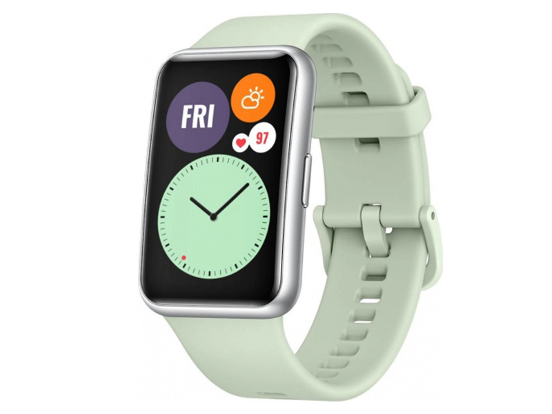 Умные часы Huawei Watch Fit TIA-B09 Mint Green 55025870 умные часы huawei watch gt 2e hector b19c mint