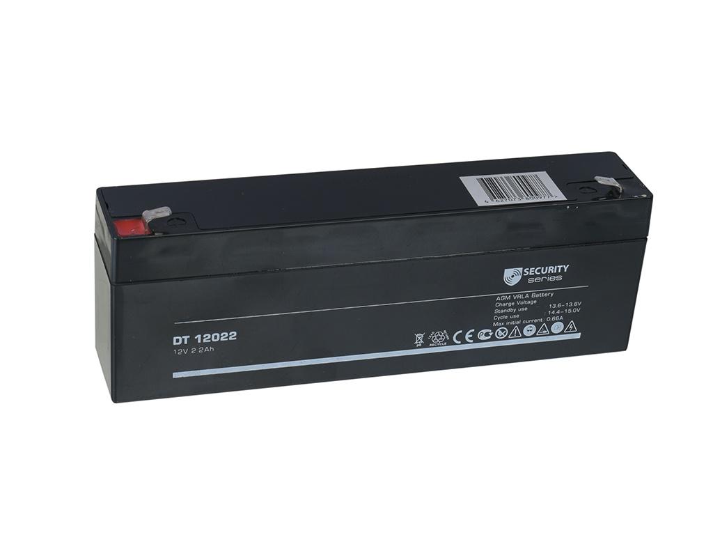 Аккумулятор для ИБП Delta DT-12022 12V 2.2Ah аккумулятор для ибп delta dt 4045 47 4v 4 5ah