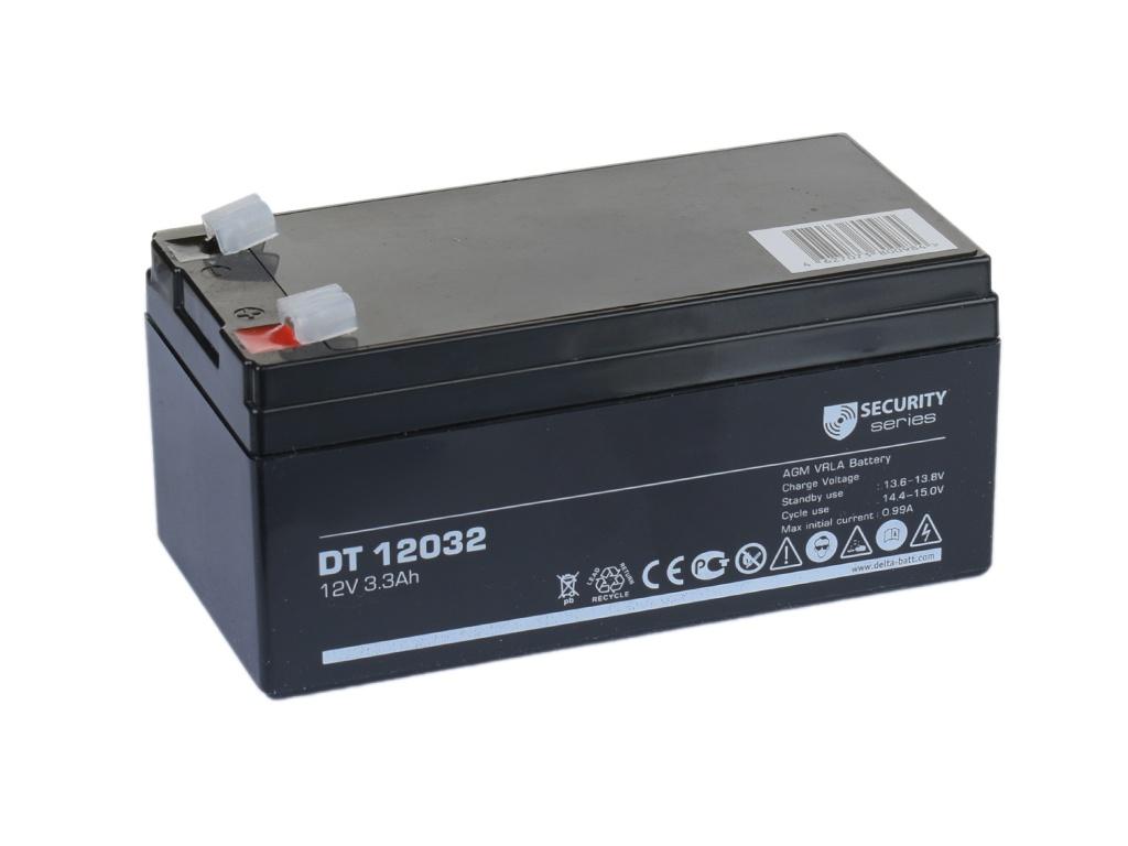 Аккумулятор для ИБП Delta DT-12032 12V 3.3Ah аккумулятор для ибп delta dt 4045 47 4v 4 5ah