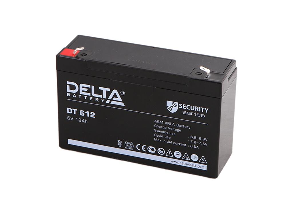 Аккумулятор для ИБП Delta DT-612 6V 12Ah аккумулятор для ибп delta dt 4045 47 4v 4 5ah
