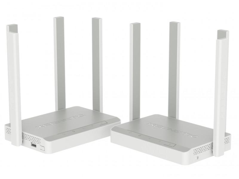 Wi-Fi роутер Keenetic Viva + Speedster Kit KN-KIT-002