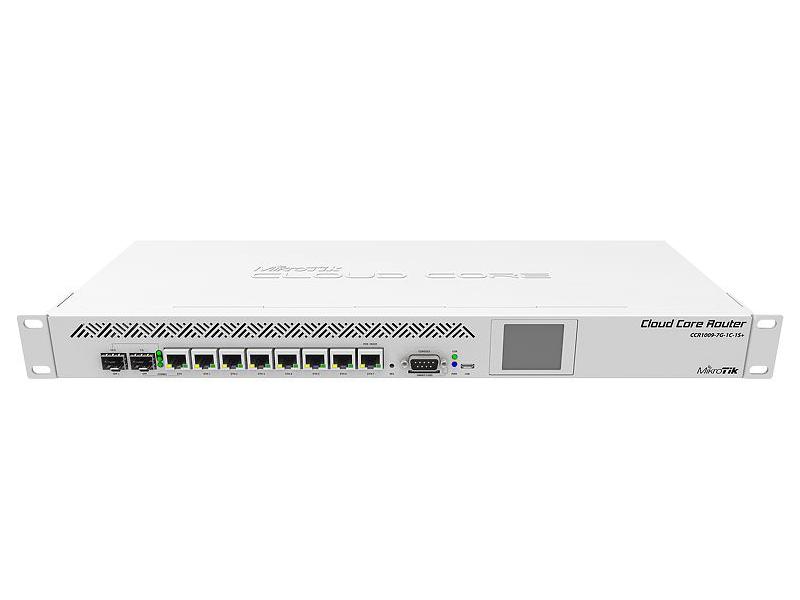 Коммутатор MikroTik Router 1U CCR1009-7G-1C-1S+
