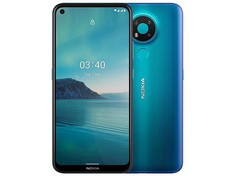 Фото - Сотовый телефон Nokia 3.4 3/64GB Dual sim Blue сотовый телефон nokia 3310 dual sim 2017 синий