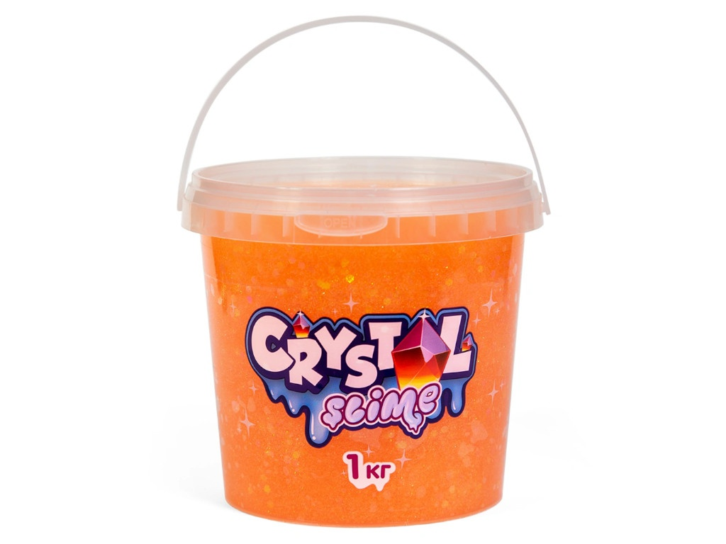 Слайм Slime Crystal 1kg Orange S300-4