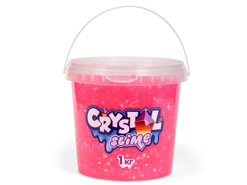 Слайм Slime Crystal 1kg Pink S300-7