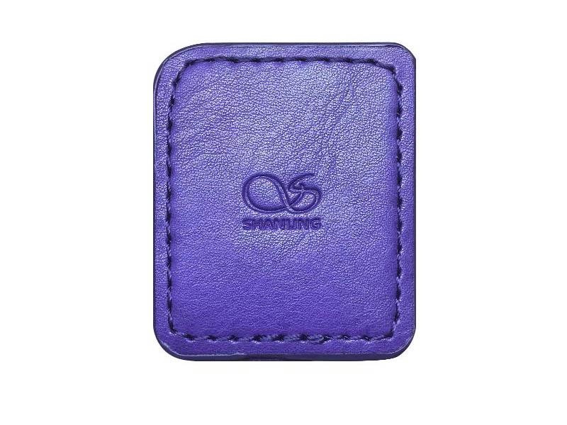 Фото - Чехол Shanling для M0 Leather Case Purple чехол chord electronics hugo 2 leather case red