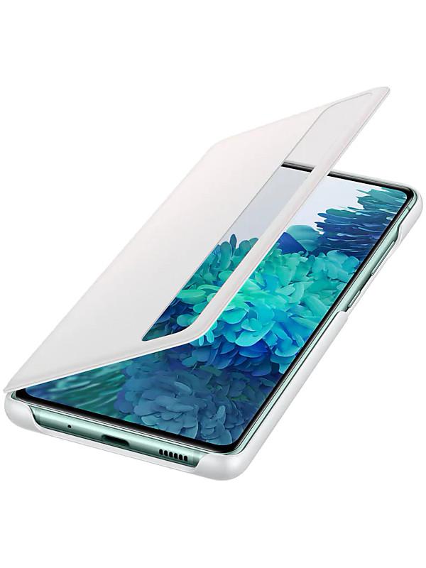 Чехол для Samsung Galaxy S20 FE Smart Clear View Cover White EF-ZG780CWEGRU