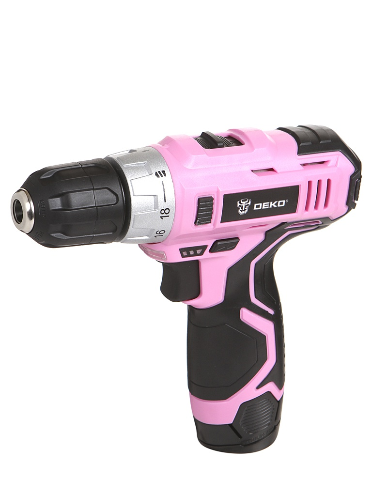 Фото - Электроинструмент Deko GCD12DU3 Pink Set2 063-4171 электроинструмент deko gcd12du3 ser 4 в кейсе оснастка 13 шт 063 4140