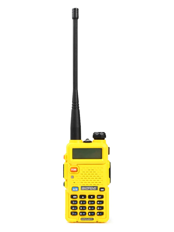 Рация Baofeng UV-5R 5W Yellow
