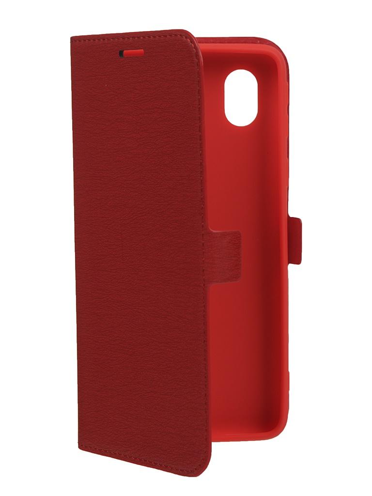 Чехол Krutoff для Samsung Galaxy A01 Core (A013) Red 10489
