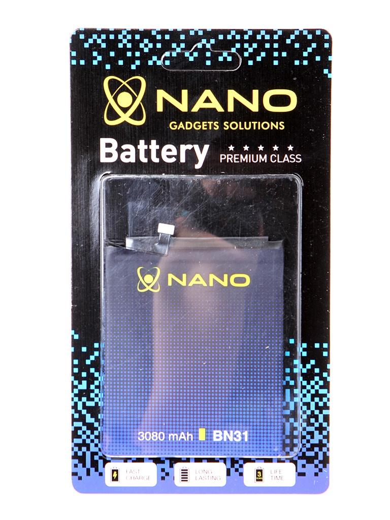 Аккумулятор Nano Original Battery для Xiaomi Mi 5X / A1 Redmi Note 5A 3080mAh BN31