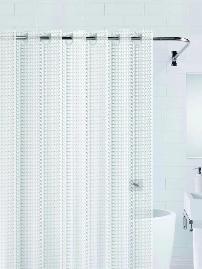 Шторка Bath Plus 3D 180x200cm Transparent NFD-3D-clear