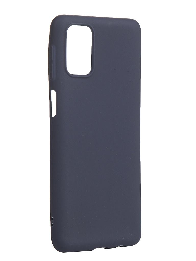 Фото - Чехол Zibelino для Samsung Galaxy M31s Soft Matte Blue ZSM-SAM-M31S-BLU чехол zibelino для realme c11 soft matte blu zsm rlm c11 blu