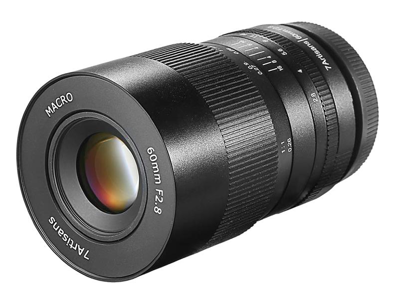 Объектив 7artisans 60mm f/2.8 MACRO Sony E черный