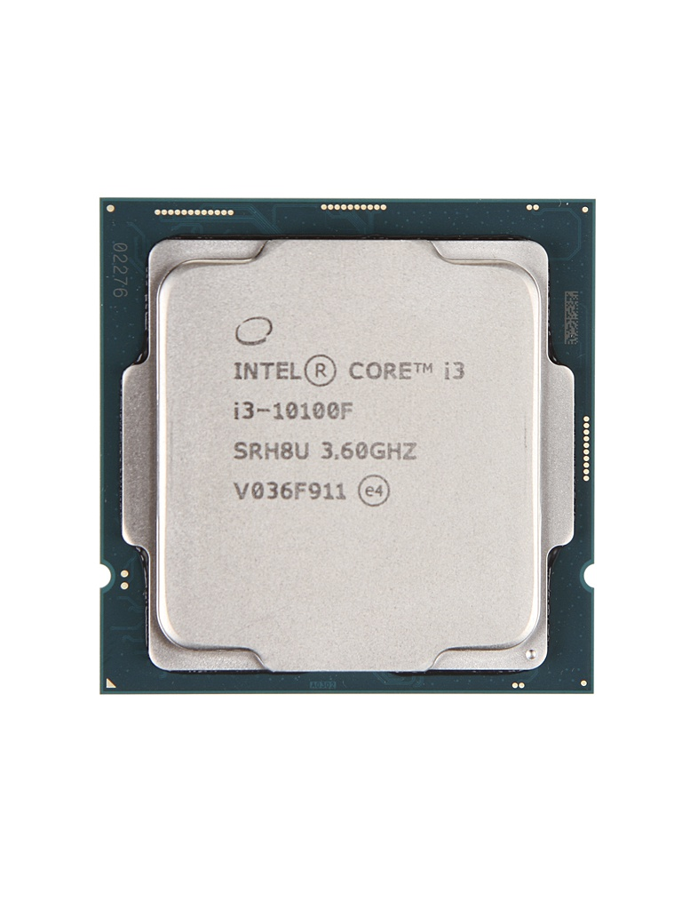 Процессор Intel Core I3-10100F (3600MHz/LGA1200/L3 6144Kb) OEM процессор intel core i9 9900k 3600mhz lga1151 l3 16000kb oem