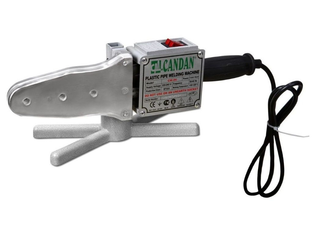 Аппарат для сварки пластиковых труб Candan CM-06 Only 1500W PP-R