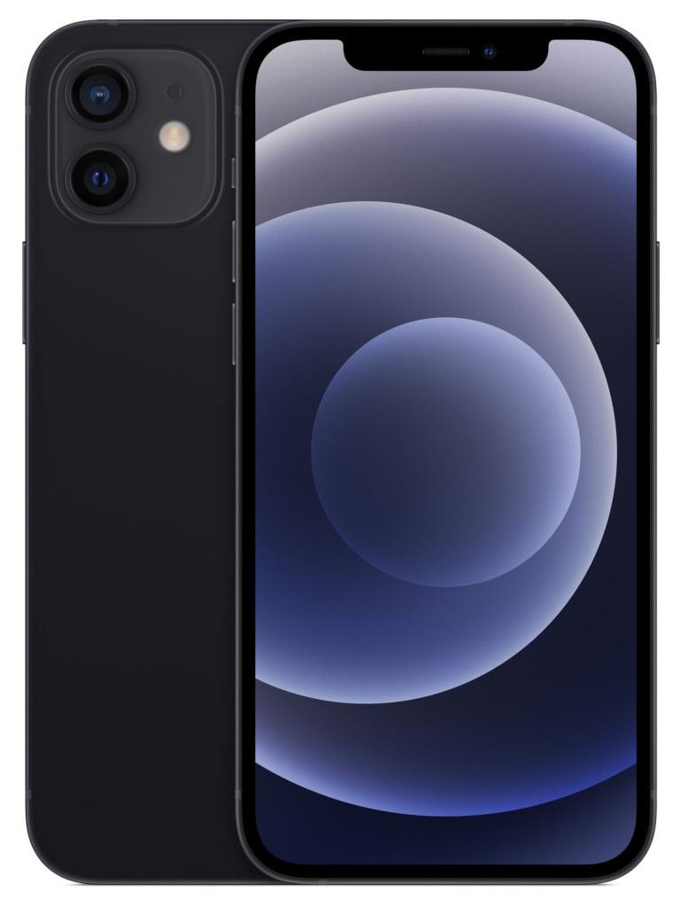 Фото - Сотовый телефон APPLE iPhone 12 64Gb Black MGJ53RU/A телефон apple iphone 12 64gb green mgj93ru a